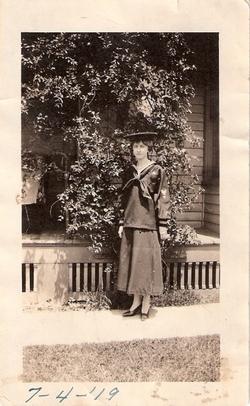 Ethel Agnes <i>Van Gelder</i> Williams