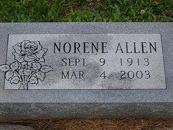 Norene M <i>Baker</i> Allen