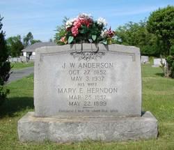 Mary E. <i>Herndon</i> Anderson