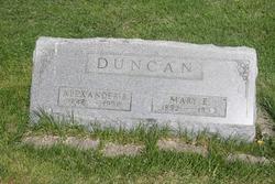 Mary E. <i>Puterbaugh</i> Duncan