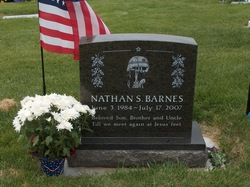 Sgt Nathan Stanley Barnes