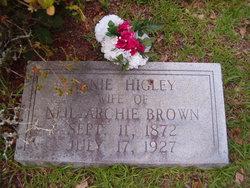 Ann <i>Higley</i> Brown