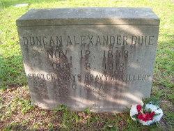 Duncan Alexander Buie
