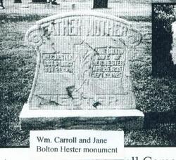 Jane <i>Bolton</i> Hester