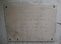 Augusta <i>Faison</i> Brown