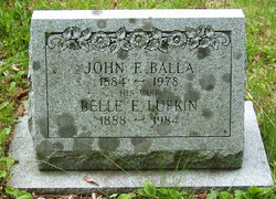 Belle E. <i>Lufkin</i> Balla