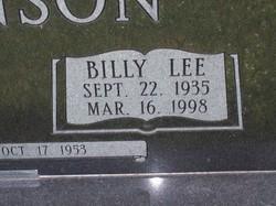 Billy Lee Johnson