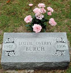 Lottie Ellen <i>Overby</i> Burch