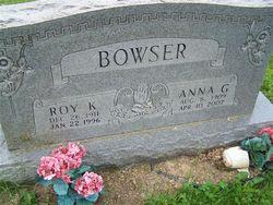 Anna G. <i>Moore</i> Bowser