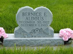 Bernice <i>Evans</i> Aldous