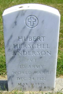 Hubert Herschel Anderson