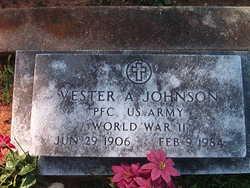 Vester A Johnson