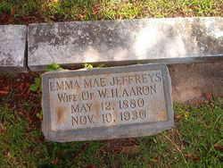 Emma Mae <i>Jeffreys</i> Aaron