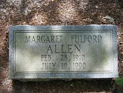 Margaret Marie <i>Fulford</i> Allen