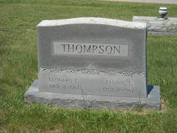 Fannie Leona <i>Parker</i> Thompson