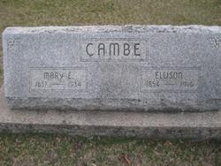 Mary Elizabeth <i>Yancey</i> Cambe