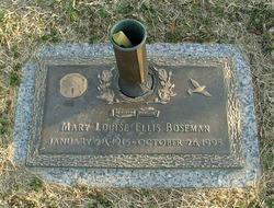 Mary Louise <i>Ellis</i> Boseman