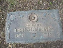 Mamie <i>King</i> Bolton