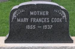 Mary Frances <i>Peel</i> Cook
