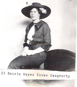 Mrs Bessie <i>Hayes</i> Daughtery