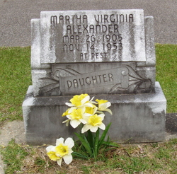 Martha Virginia Alexander