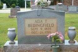 Ada Tennessee <i>Greer</i> Bedingfield