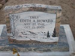 Edith A Emily <i>Jonson</i> Howard