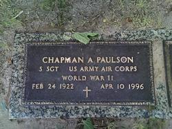 Chapman A Paulson