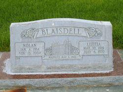 Letitia Blaisdell