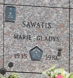 Marie Gladys Sawatis