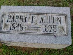 Harry P Allen