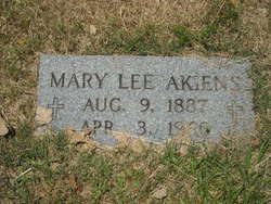 Mary Lee <i>Jenkins</i> Akiens