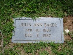 Julia Ann Baker