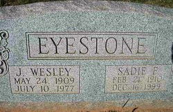 John Wesley Eyestone