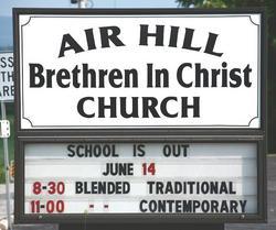 Air Hill Cemetery