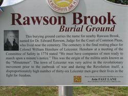 Rawson Brook Burial Ground