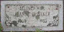Jeanne D Baker
