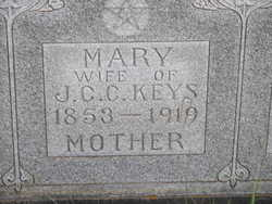 Mary Jane <i>Boyd</i> Keys