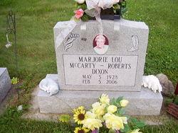 Marjorie L. <i>McCarty</i> Dixon