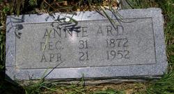 Annie <i>Matherson</i> Ard
