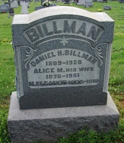Alice M. <i>Fleisher</i> Billman