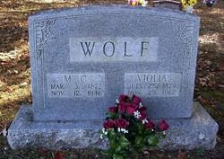 Adelburt McGage M C Wolf
