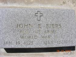 John E Biers