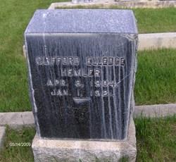 Clifford Elledge Hemler