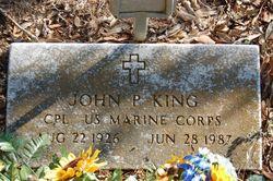 John P King