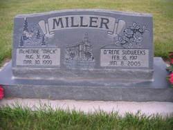 O'Rene <i>Sudweeks</i> Miller