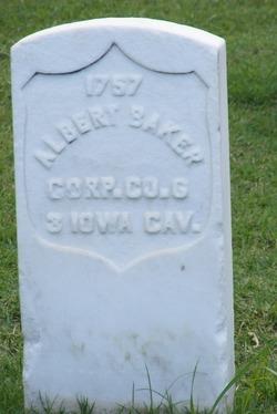 Corp Albert Baker
