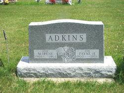 Irene Mamie <i>Wood</i> Adkins