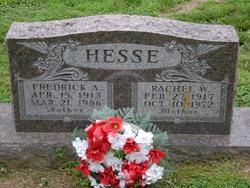 Rachel W <i>Meyer</i> Hesse