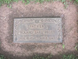 Roland Earl Frost